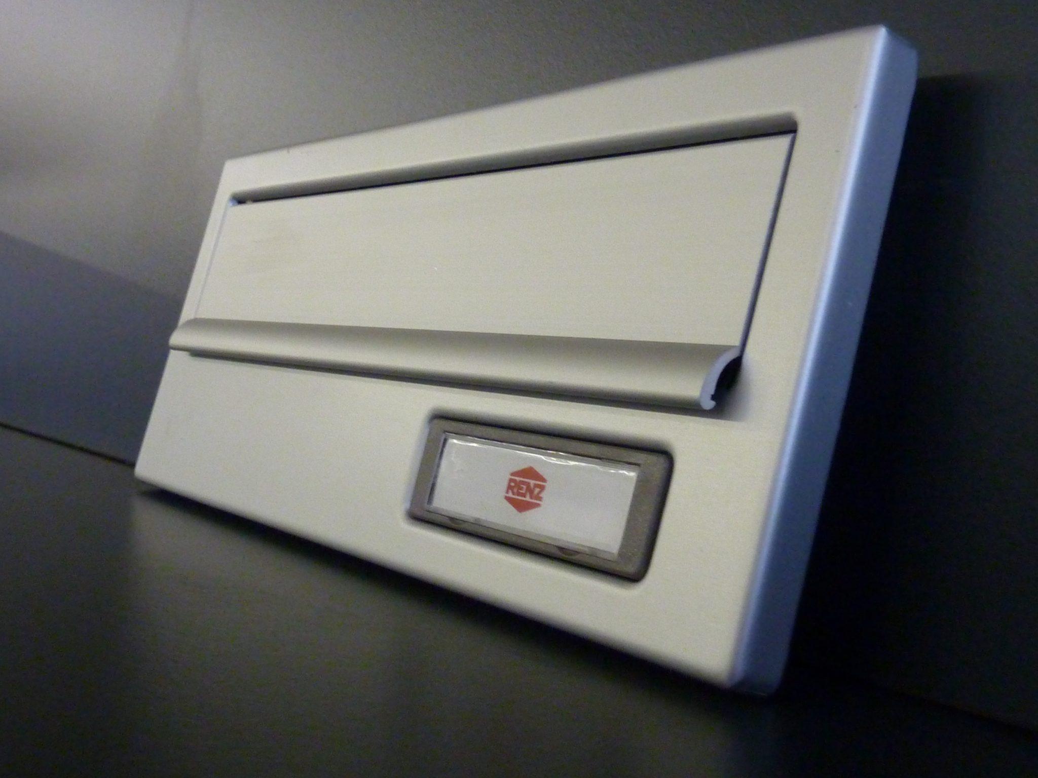 Briefkasten Blende